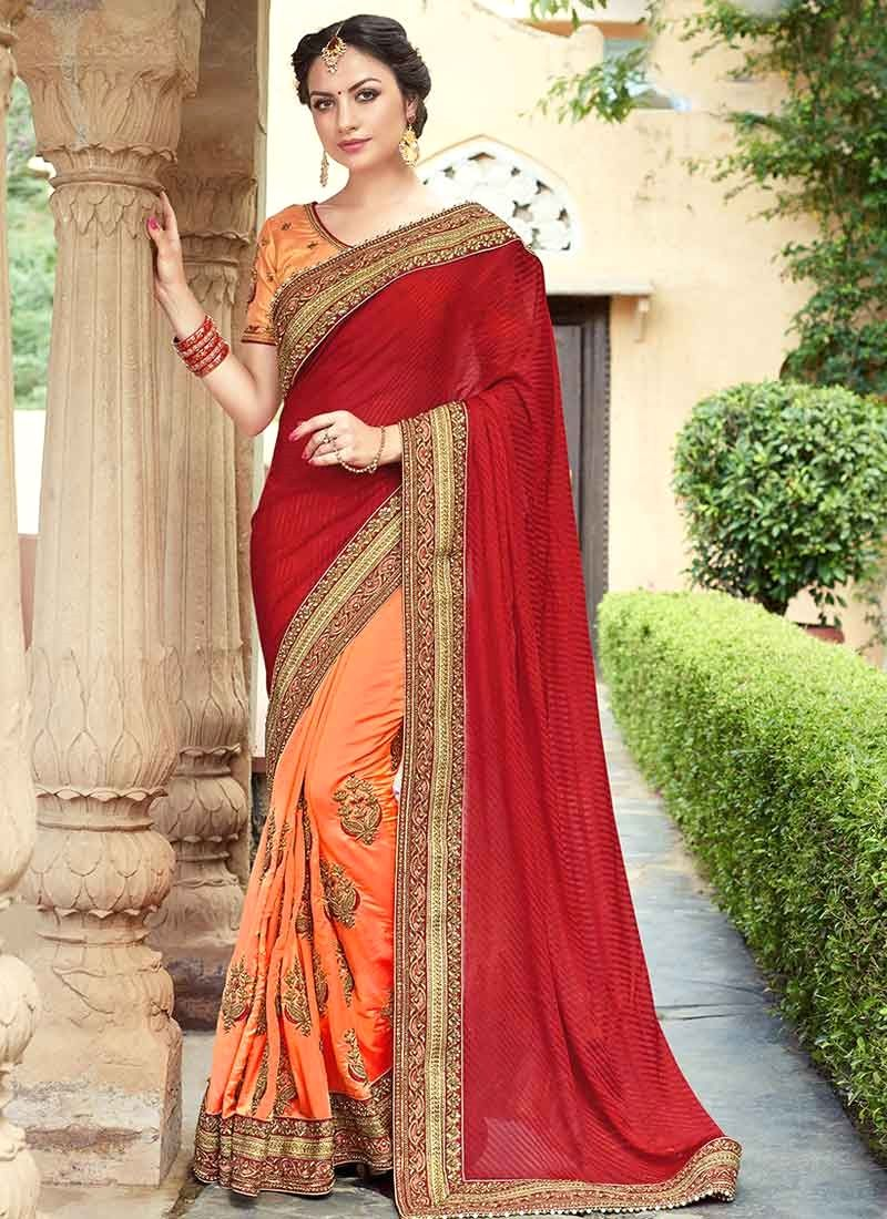 Peach color saree for wedding buy online women fashion sarees online in various styles designs