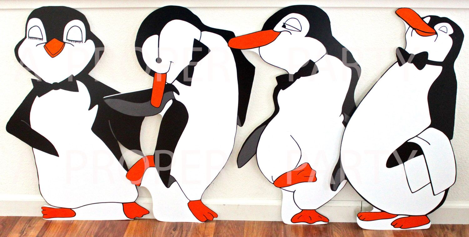 Pingouin Mary Poppins Penguins Black And White Penguins Tuxedo Penguins Penguin