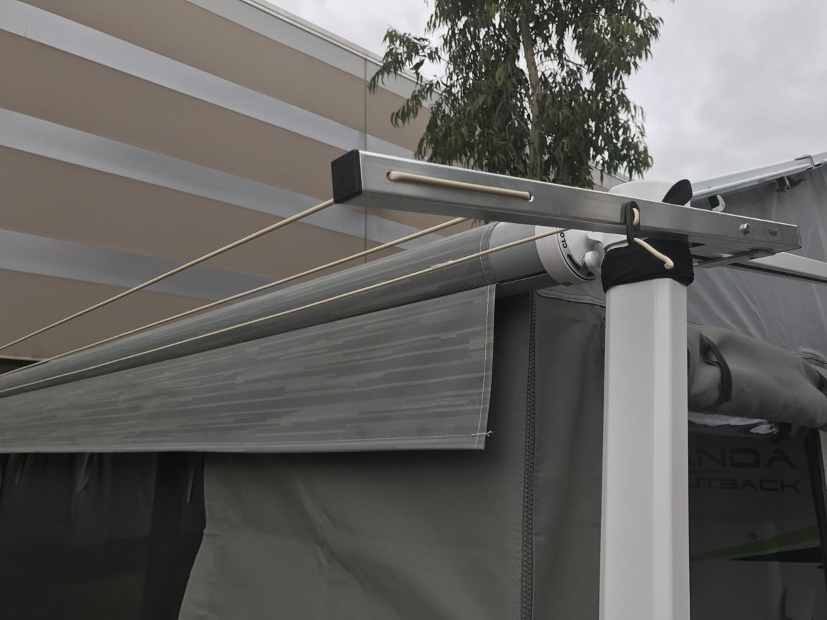 Rollout Awning Clothesline Caravan Clothes Line
