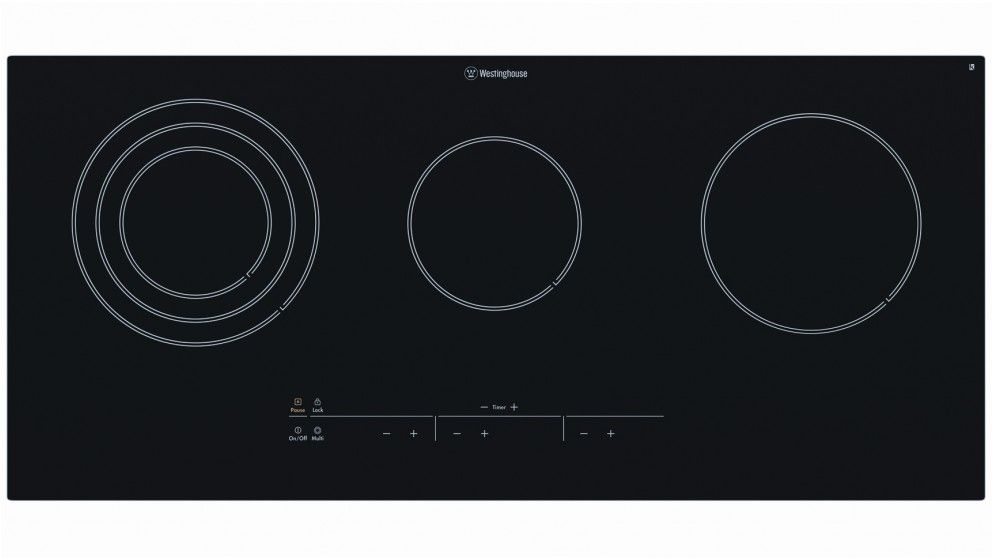 Westinghouse 90cm 5 Zone Touch Control Ceramic Electric Cooktop