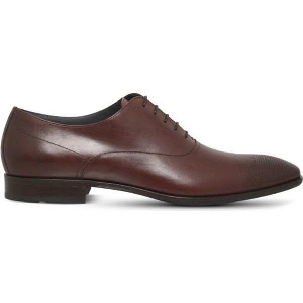 b277ee97854 HUGO BOSS Chelsea leather Oxford shoes ($360) ❤ liked on Polyvore ...