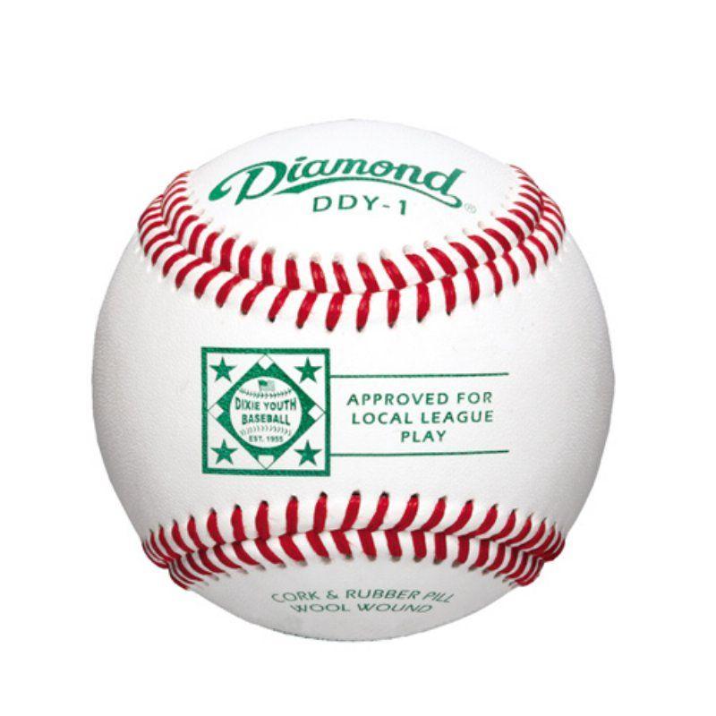 Diamond DDY1 Dixie League Baseballs 1 Dozen 1159141