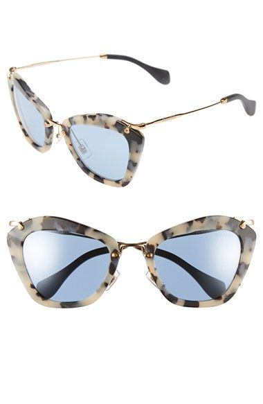 55mm Available Shade Miu Sunglasses AtnordstromThrowing IY76gfbyv