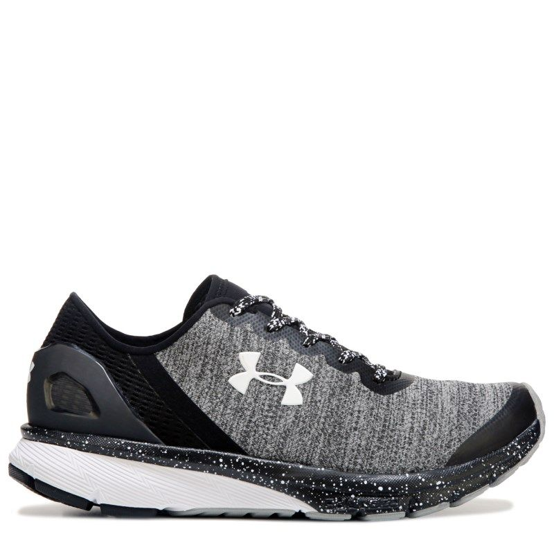 Under Armour Women s Charged Escape Running Shoes (Black Grey) ecd8153554ae