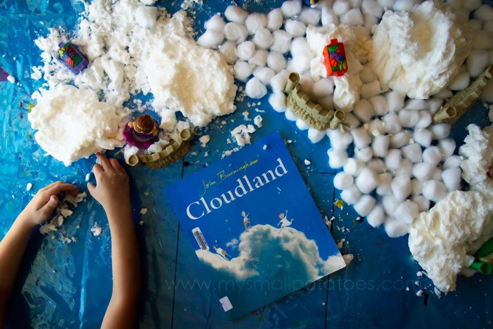 Playing in Cloudland...A Small World Storybook Sensory Adventure!
