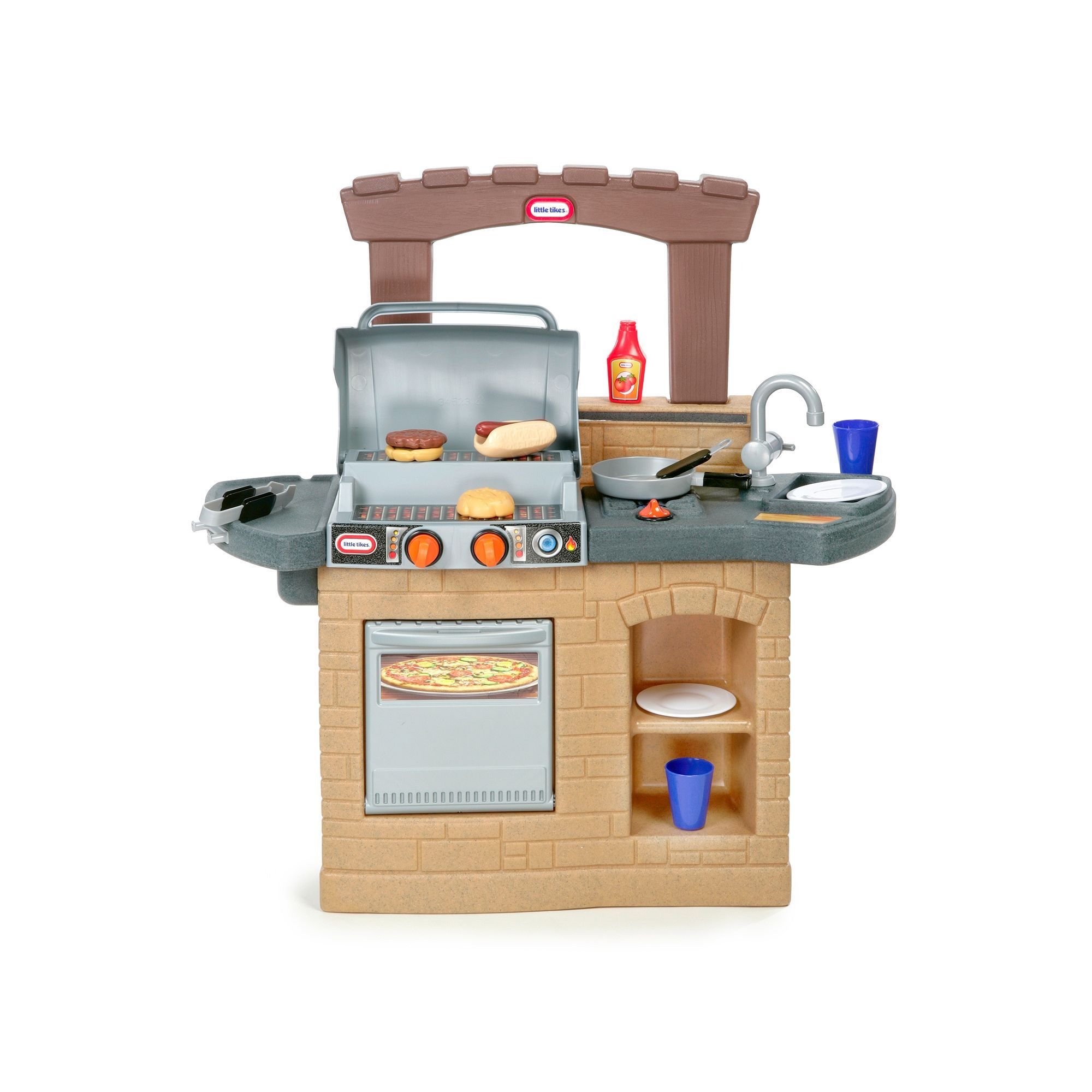 Little Tikes Cook N Play Outdoor Bbq Playset Outdoor Play Outdoor Fun Outdoor Toys