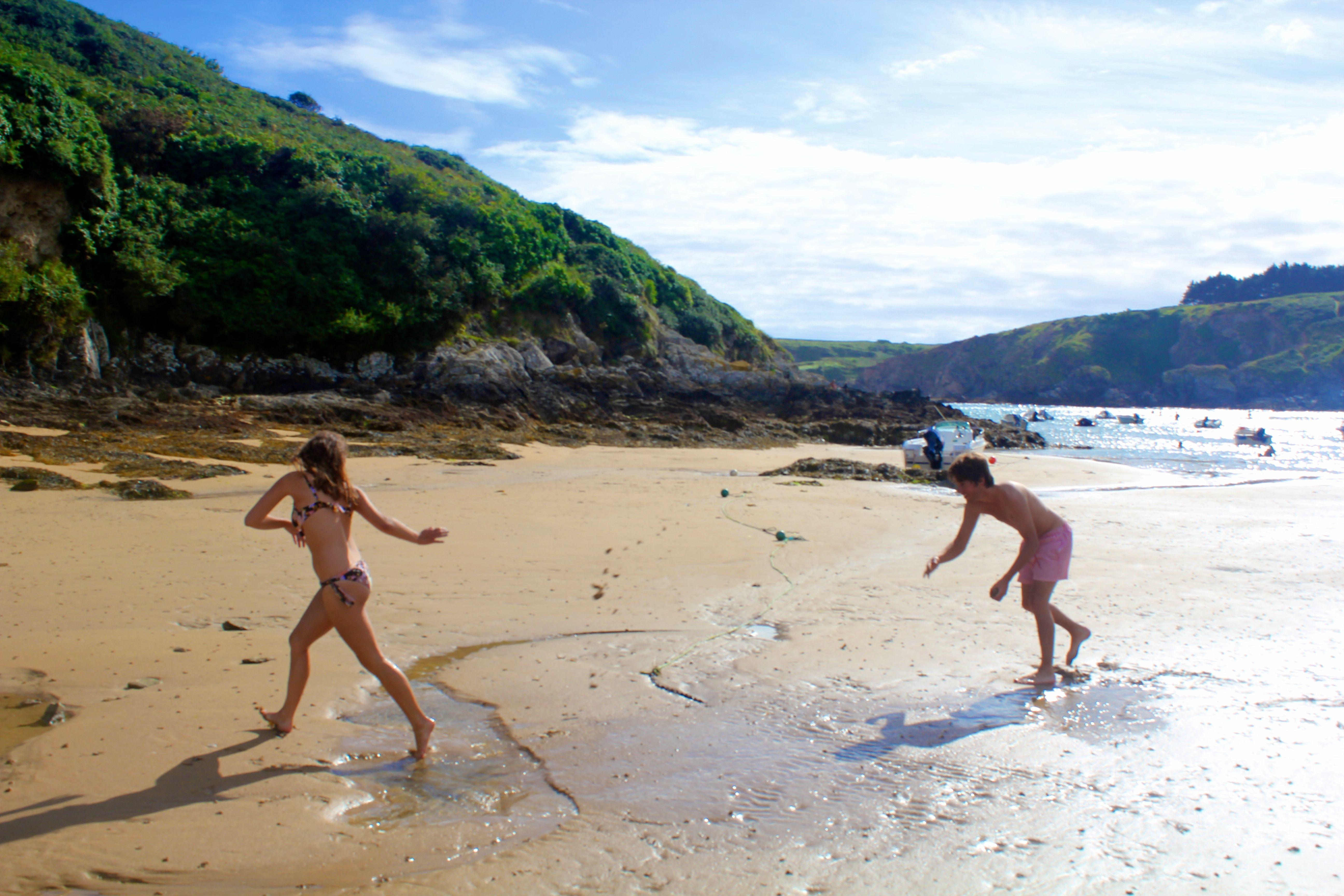 Plage Kerel Belle ile en mer Kerel Beach