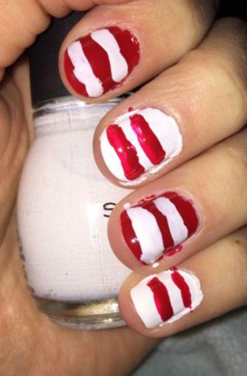 26 epically funny nail art fails pinterest fails 26 epically funny nail art fails prinsesfo Gallery