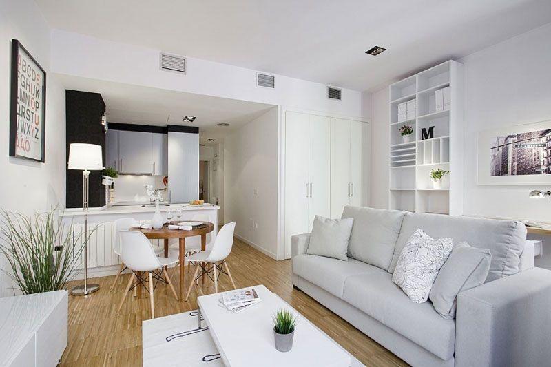 Desain Dapur Dan Ruang Makan Minimalis Sederhana Yang Menyatu Living Room Dining Room Combo Living Room And Kitchen Design Open Plan Living Room