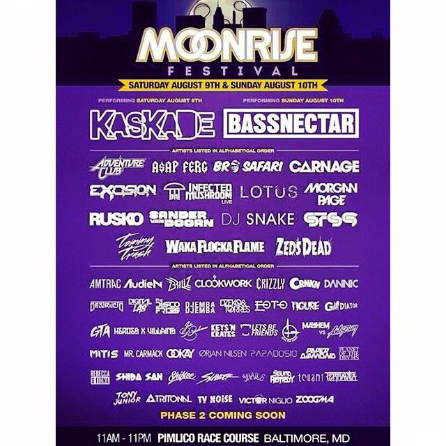 Moonrise is coming up in August! Who are you most excited to see? #baltimore #moonrise #Trance Check more at http://www.voyde.fm/photos/random-instagram/moonrise-is-coming-up-in-august-who-are-you-most-excited-to-see-baltimore-moonrise-10/