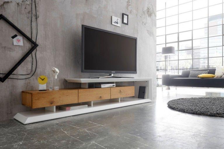 Tv Lowboard Weiss Modern Lowboard Wohnzimmer Modern Wohnen
