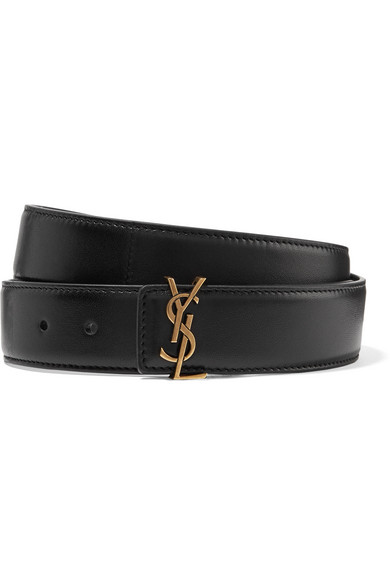 c49f408714f Saint Laurent | Leather belt | NET-A-PORTER.COM | Одежда: Аксессуары ...