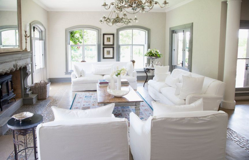 72 Living Rooms With White Furniture Sofas And Chairs White Sofa Living Room White Sofa Living White Couch Living Room