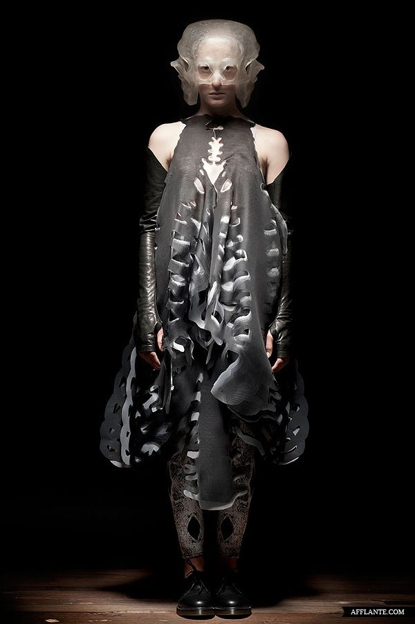 'GETOUTOFYOURSKIN' Fashion Collection // Caterina Ciuffoletti | Afflante.com