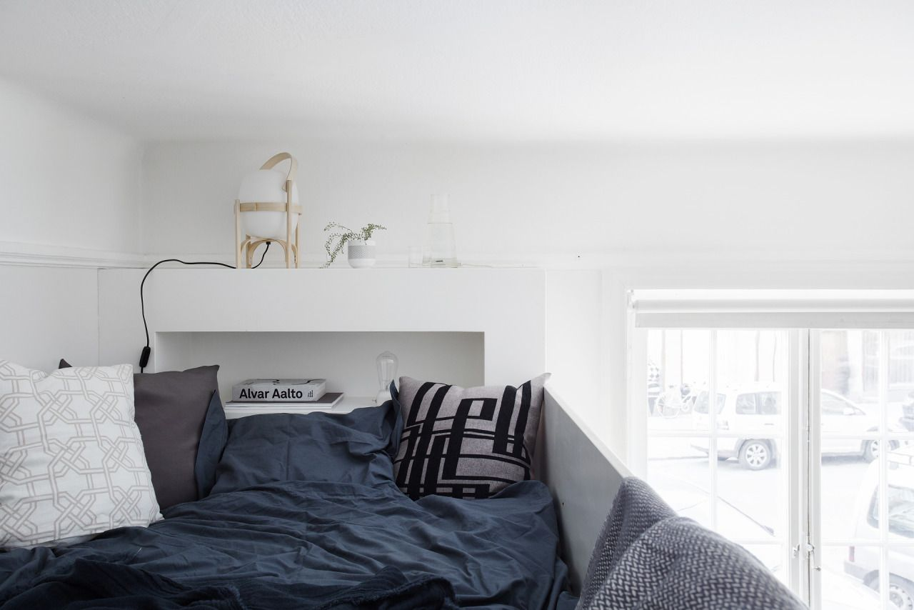 Ideas for space under loft bed  Loft bed  Några få kvadrat  Pinterest  Lofts Apartments and