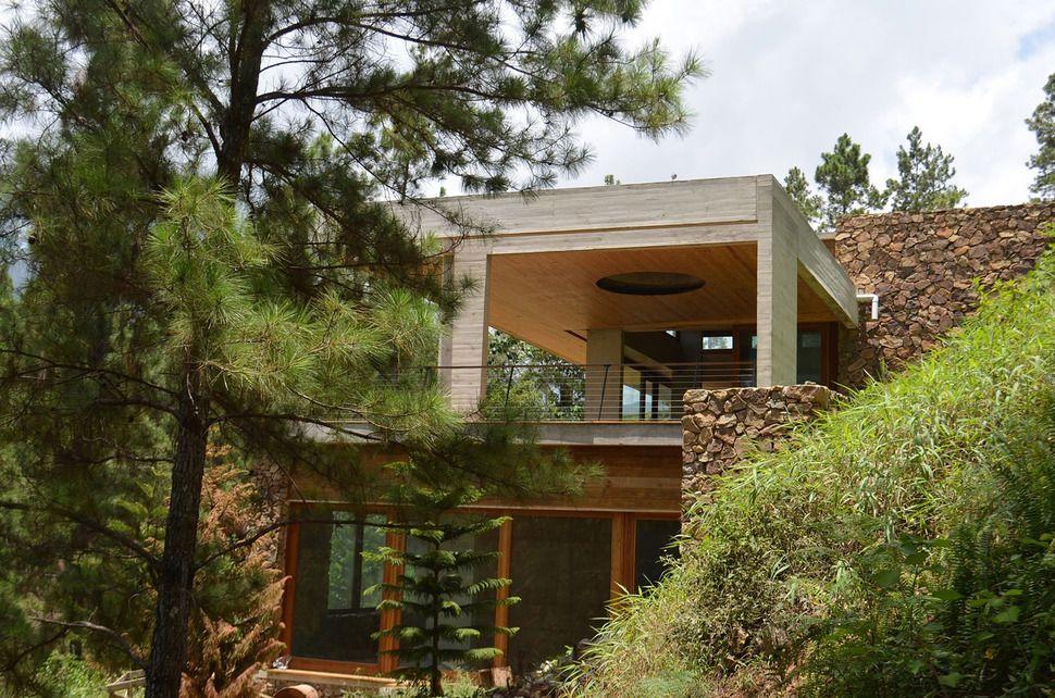 Grass Roofed Home Built into Slope uses Hillside for Cooling House - fresh blueprint house bracknell