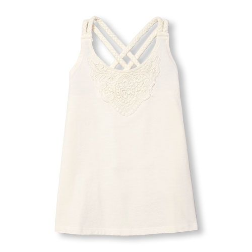 The Childrens Place Big Girls Basic Fashion Tank Top
