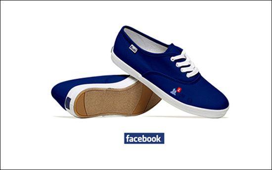 Zapato redes sociales