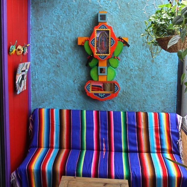Mexican Decoration #colors #sarape #mexicandecoration