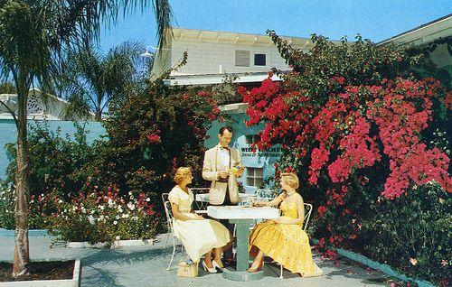 vintage florida patio - Bing Images