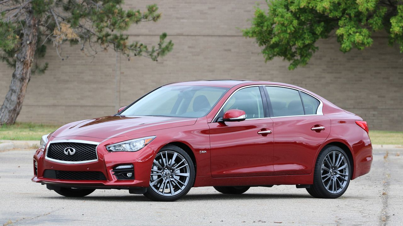 Review 2016 Infiniti Q50 Red Sport 400