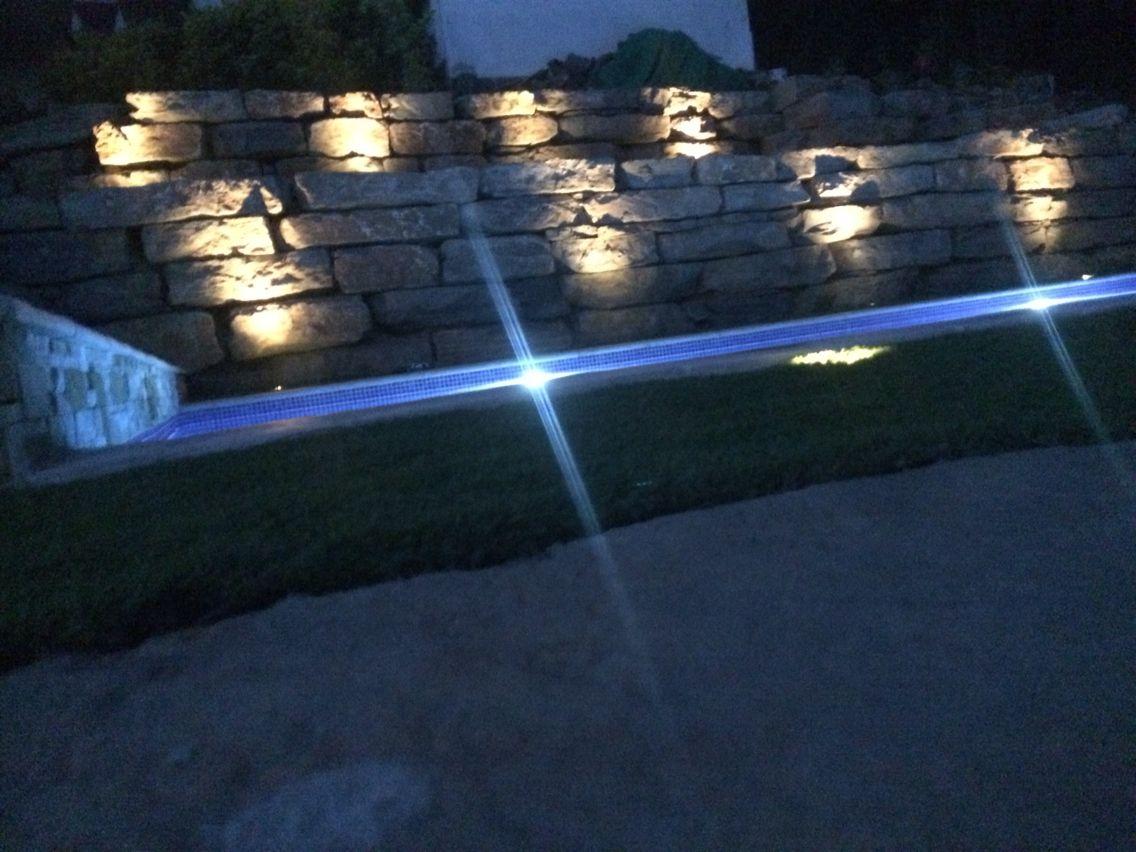 Para poder realizar esta piscina tuvimos que crear el - Lucia la piedra piscina ...