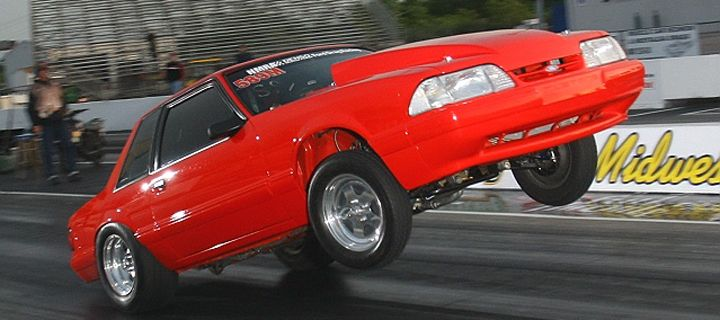 84 Mustang Drag Car Chris Webster S Skyscraping 90 Mustang Wasn