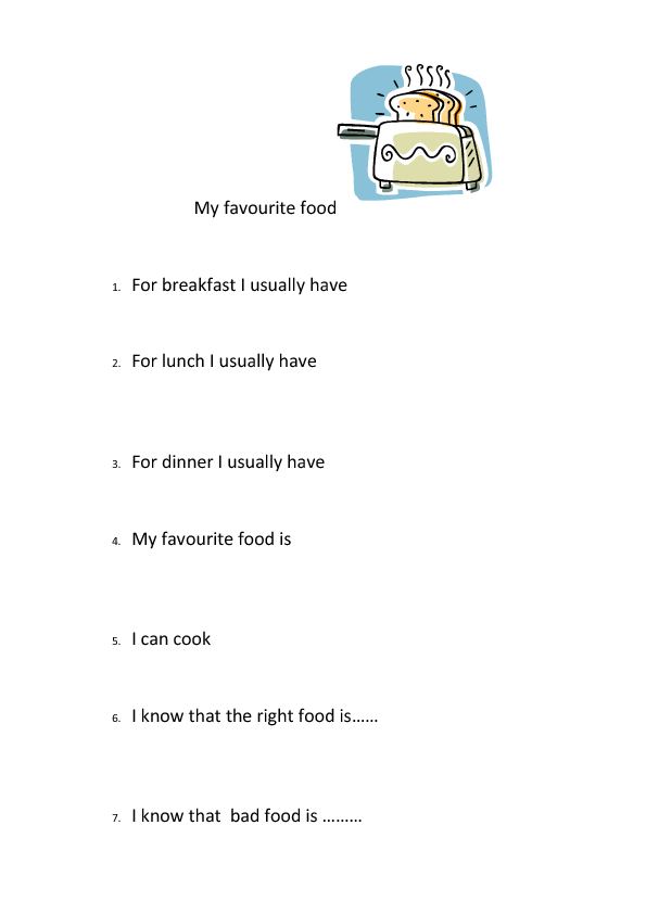 My Favourite Food Favorite Math Word Things Essay In Hindi Indian For Clas 2