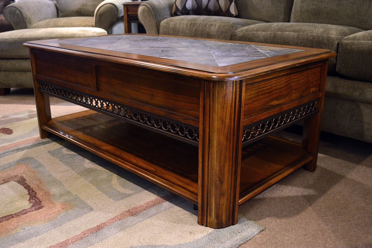 Magnussen tanner console table httpargharts pinterest magnussen madison collection lift top cocktail table features a lift top with a storage area beneath geotapseo Image collections