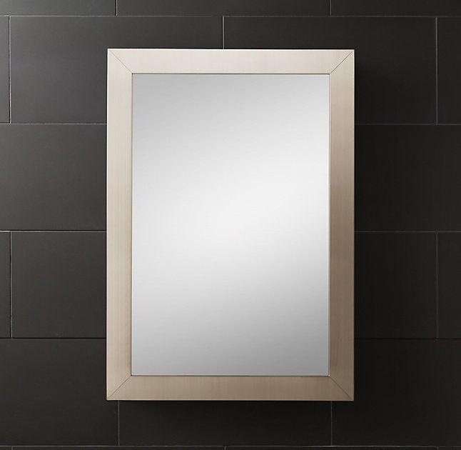 Wide Frame Medicine Cabinet Medicine Cabinet Mirror Modern Home Interior Design Shower Remodel