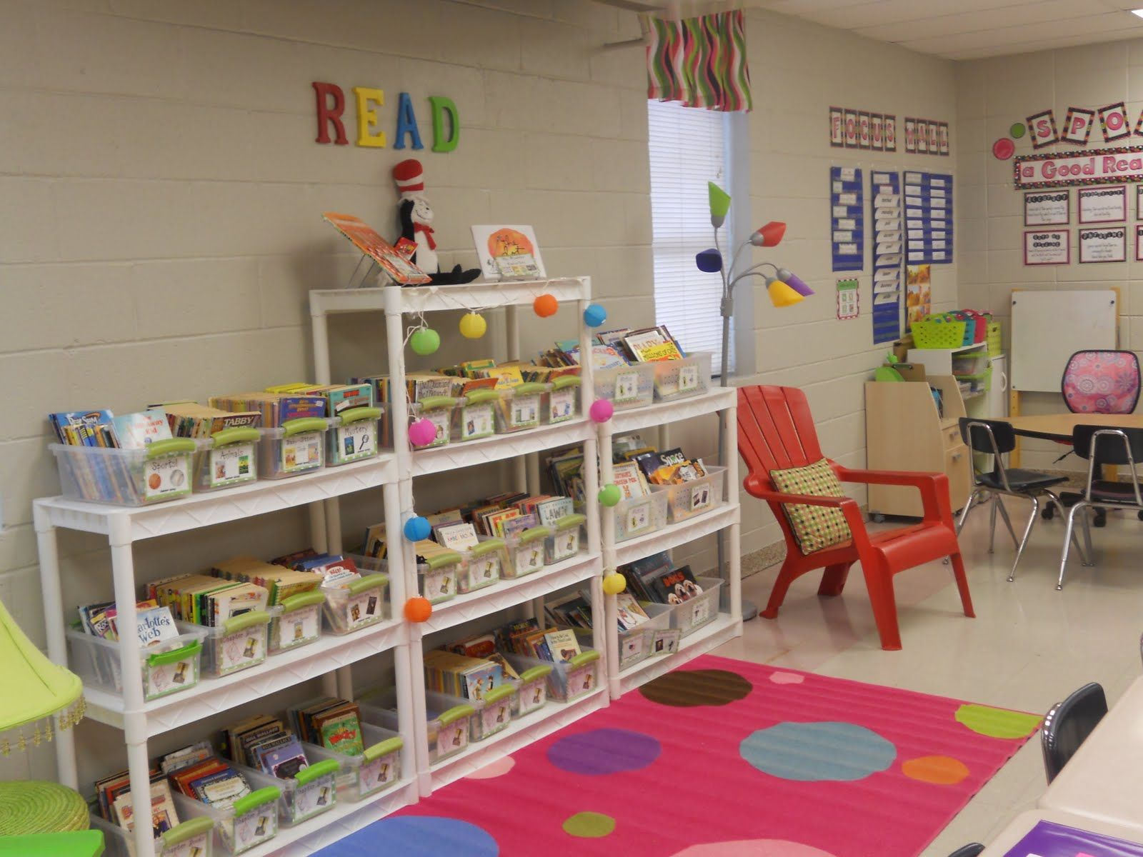 3rd Grade Classroom Design Ideas ~ Awesome organization of classroom library donna weth we