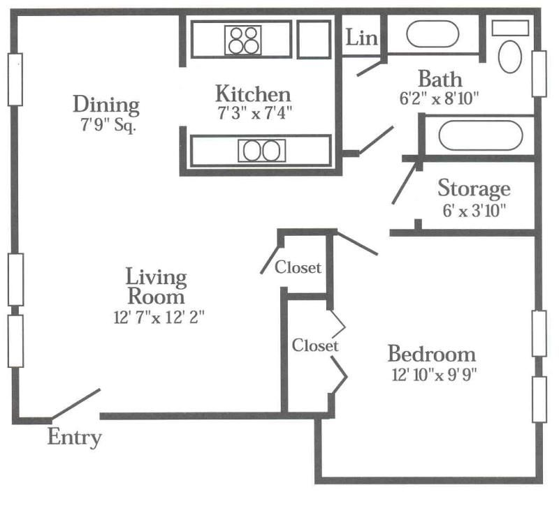 650 Sq Ft Floor Plans Google Search Cottage Floor Plans One Bedroom House Plans One Bedroom House