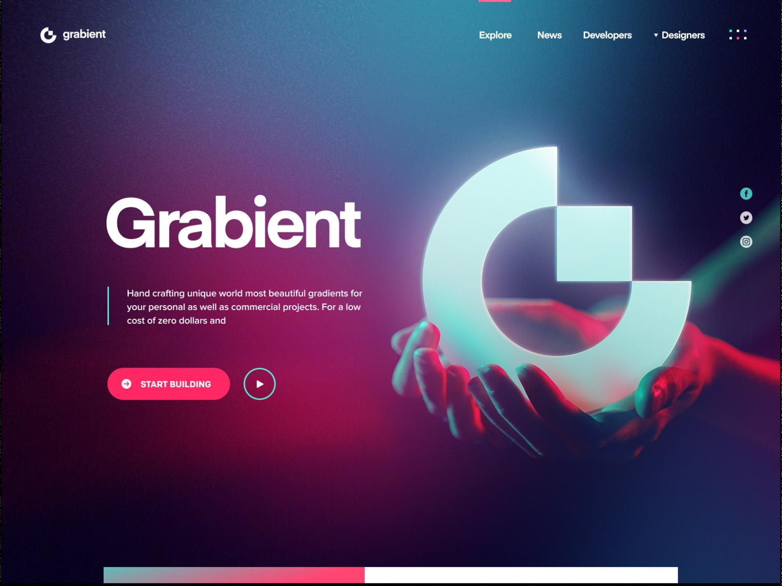 Grabient 2 0 Ux Design Trends Ux Design Web Design Quotes