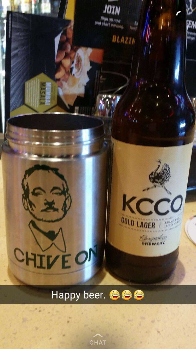 Bill Murray Chive On decal, KCCO, BM decal, chive on, by SassyGypsyDesigns on Etsy