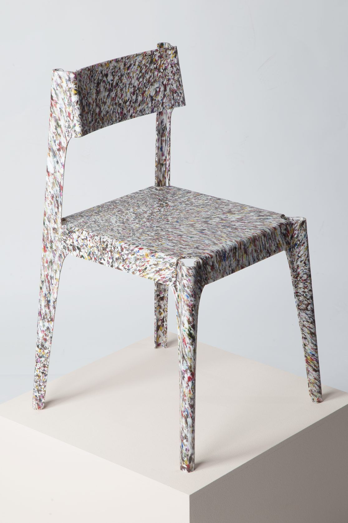 Substantial Chair Recycled Plastic Furniture Recycled Plastic Chair Minimalist Chair
