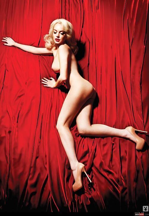 playboy marilyn monroe Lindsay lohan