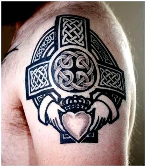 3f89042f39f52 Cross Tattoo Celtic Style - Tattoo Shortlist   Tattoos   Celtic ...