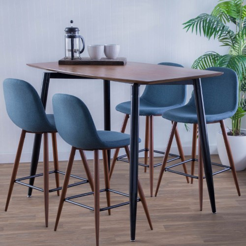 Wondrous Lumisource Clara 48 In Rectangular Counter Height Dining Ncnpc Chair Design For Home Ncnpcorg