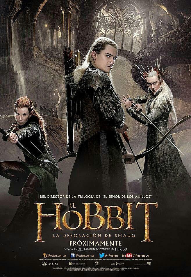 El Hobbit La Desolación De Smaug La Desolación De Smaug Hobbit El Señor De Los Anillos