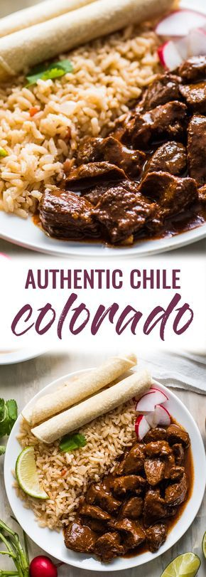 Authentic Chile Colorado images