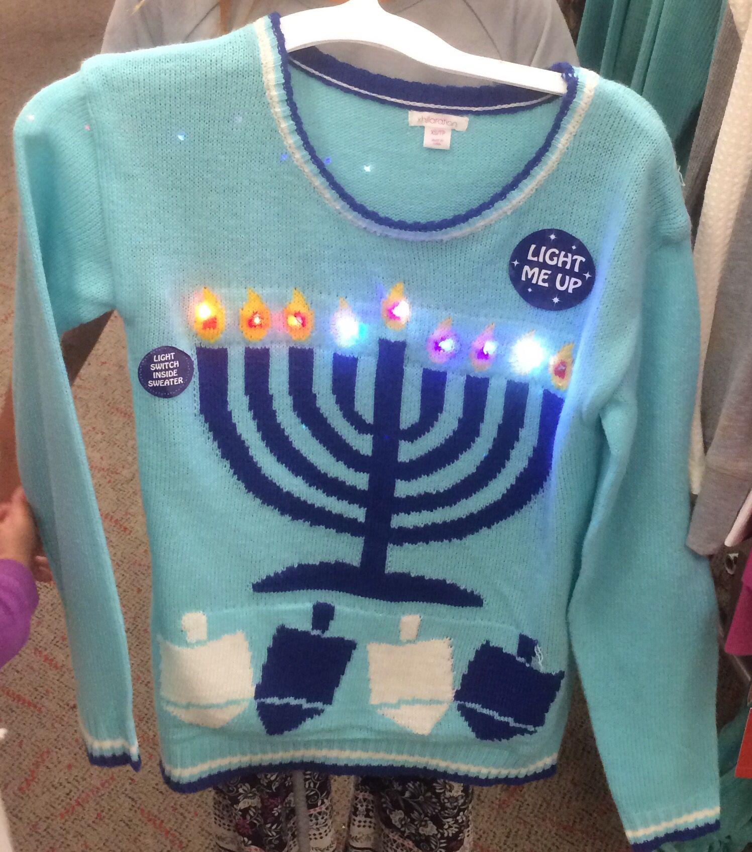 Hanukkah Sweater From Target Holidays Hanukkah Hanukkah