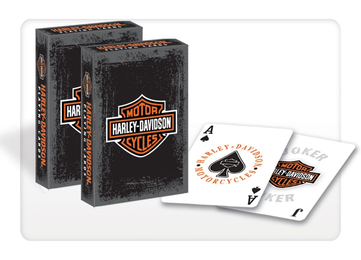 Harley Davidson Rustic Playing Cards 637 $9.00