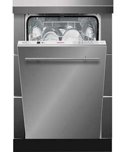 Bush WQP89347 BuiltIn Slimline Dishwasher. argos 239