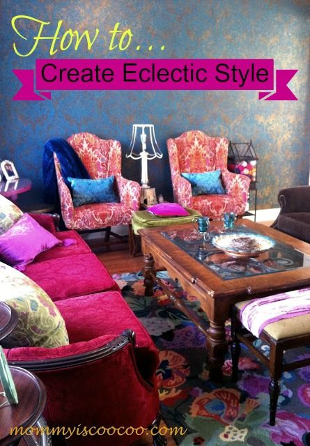 Tips For Creating Eclectic Style. A Collected Living Room With New And  Upcycled Eclectic Items Pieced Together To Create My Eclectic Style Living  Room.