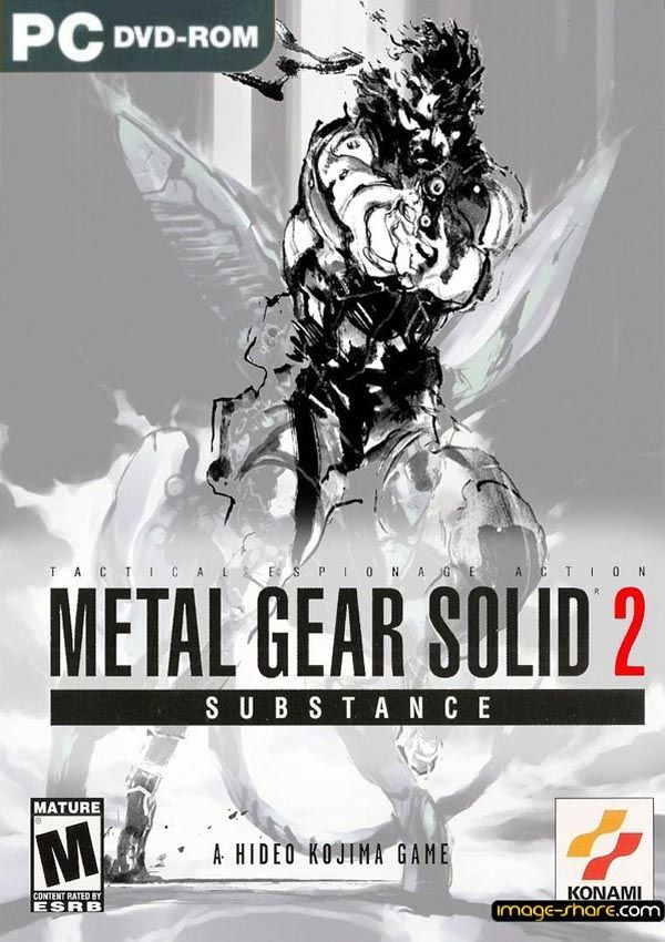 Metal Gear Solid 2 Substance Download Cover Free Game
