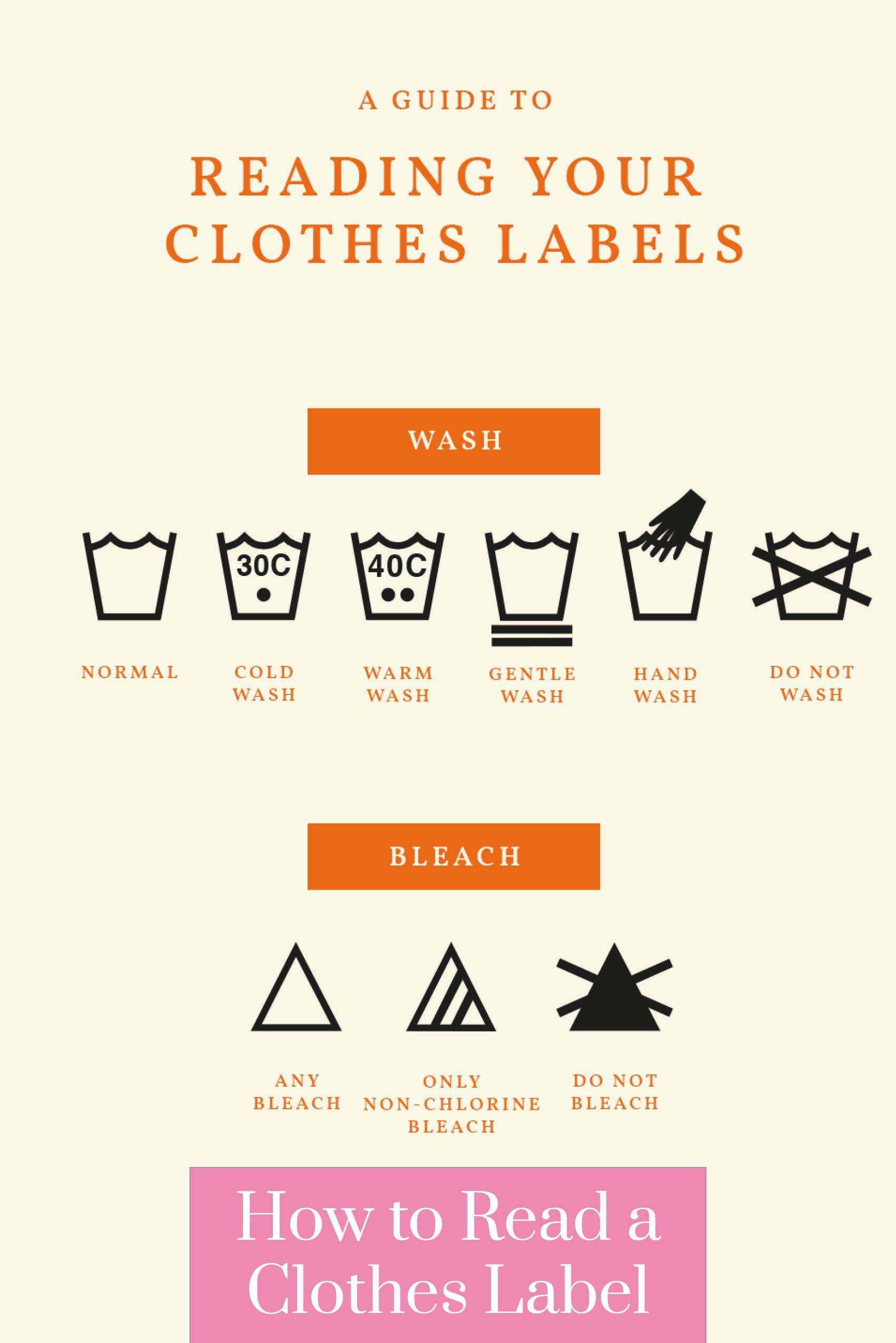 How To Read A Clothes Label