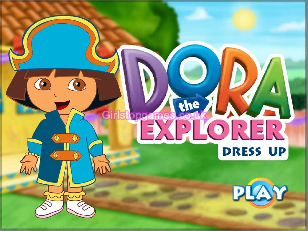 Online Play Cute Dora The Explorer Dress Up Game Free At -6616