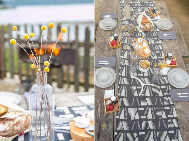 Save for the oysters purchased on-site, Buzzworthy Events brought everything, even homemade lavender lemonade for this bohemian birthday bash.