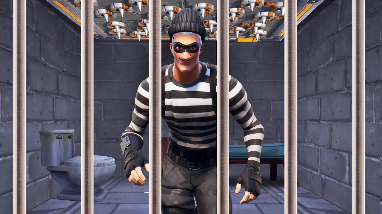 Escaping PRISON In FORTNITE! (Fortnite Prison Break