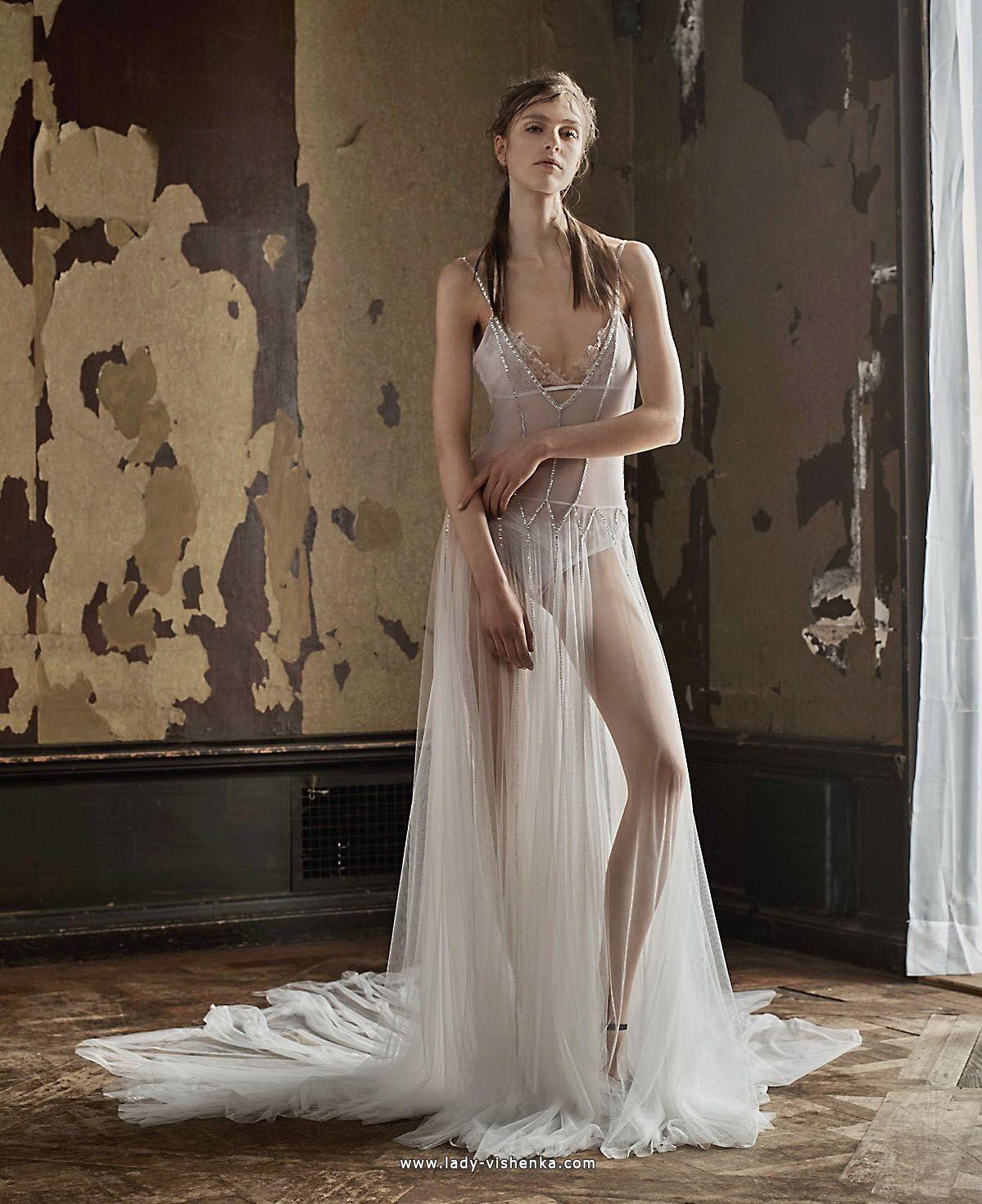 Transparente brautkleider — Designerin Vera Wang Alle Brautkleider ...